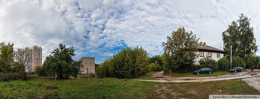 Панорама улицы Краснофлотской, сентябрь 2013 года