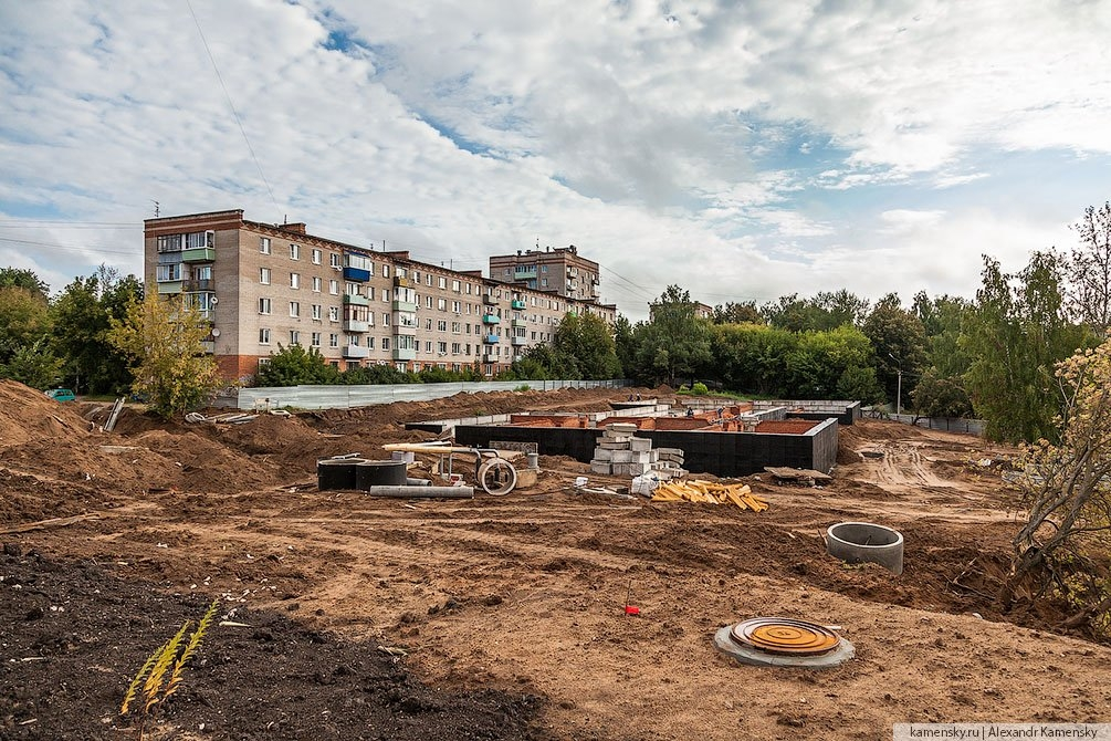 Новостройка на Морозова, сентябрь 2013 года