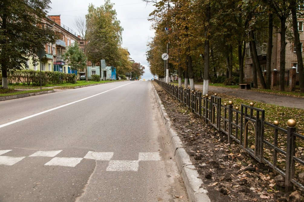 Проспект Ленина, сентябрь 2013 года