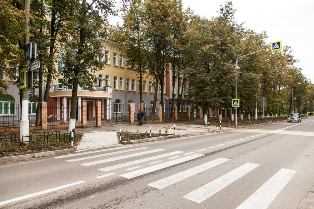 Проспект Ленина и школа №2, сентябрь 2013 года