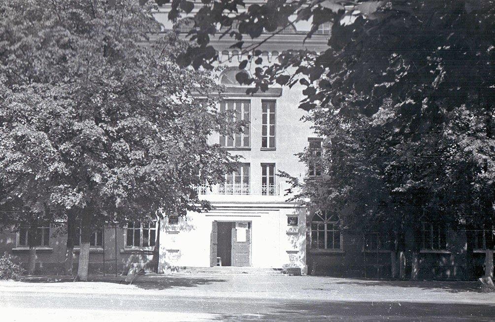 Школа №2 на улице Комсомольской, 1970-е годы