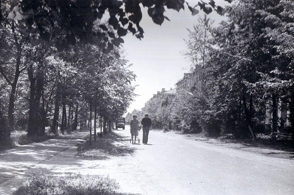 Улица Комсомольская, 1970-е годы