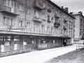 """Магазин на улице Строителей, именовавшийся """"Стеклянным"""", 1970-е годы"""