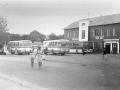 Конечная автобусов на проспекте Ленина, 1970-е годы