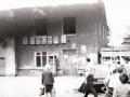 Сгоревший дом 8а на проспекте Ленина, 1990-е годы