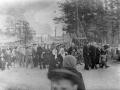 Первомайская демонстрация на улице Чкалова, 1950-е годы