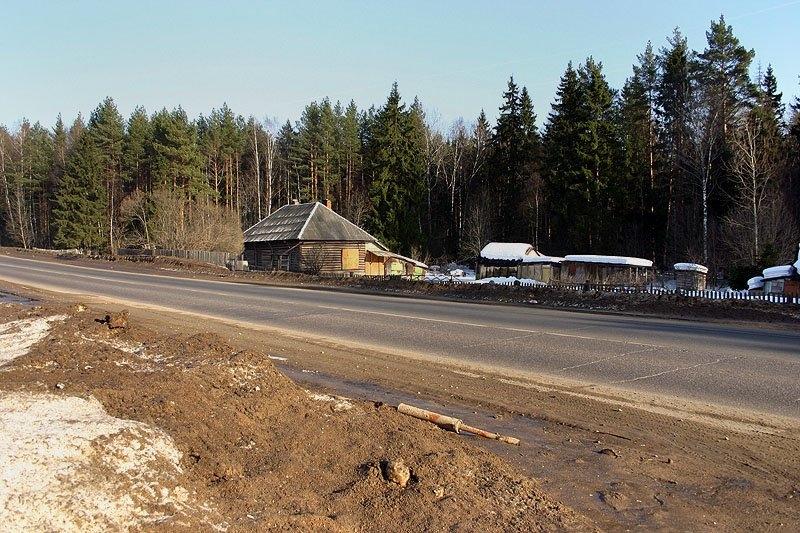 В этом месте, около Фряновского шоссе, находилось учебное депо МЛТИ