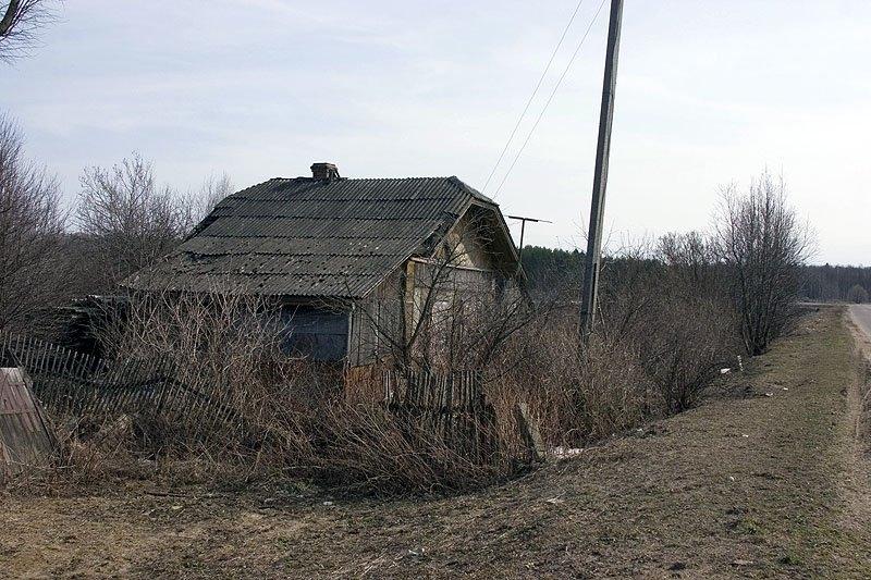 Федоровское, бывший станционный дом, сгорел и разрушен в 2013 году