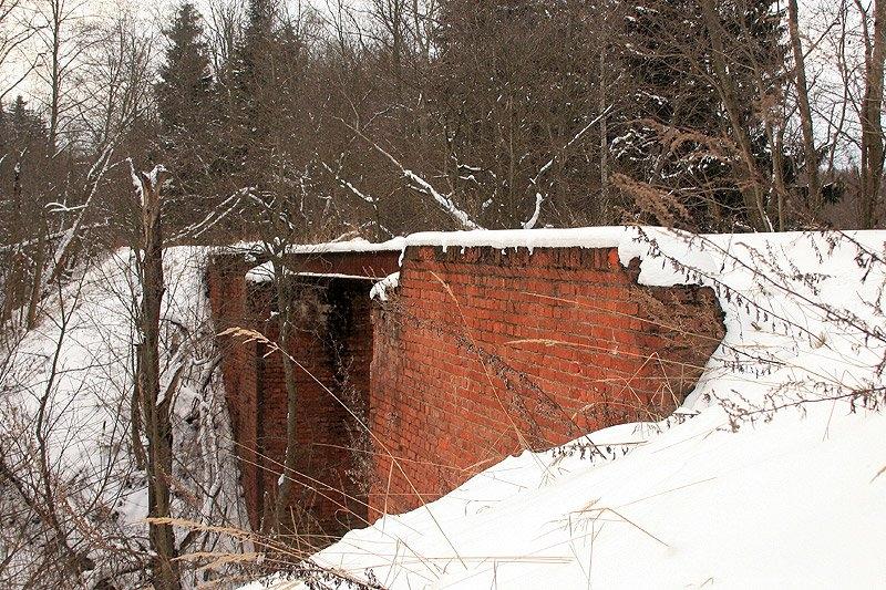 Узкоколейный мост через Талицу, окрестности деревни Григорово