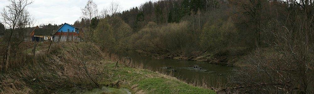 Здесь проходили пути УЖД, река Воря и сады на Подсобном