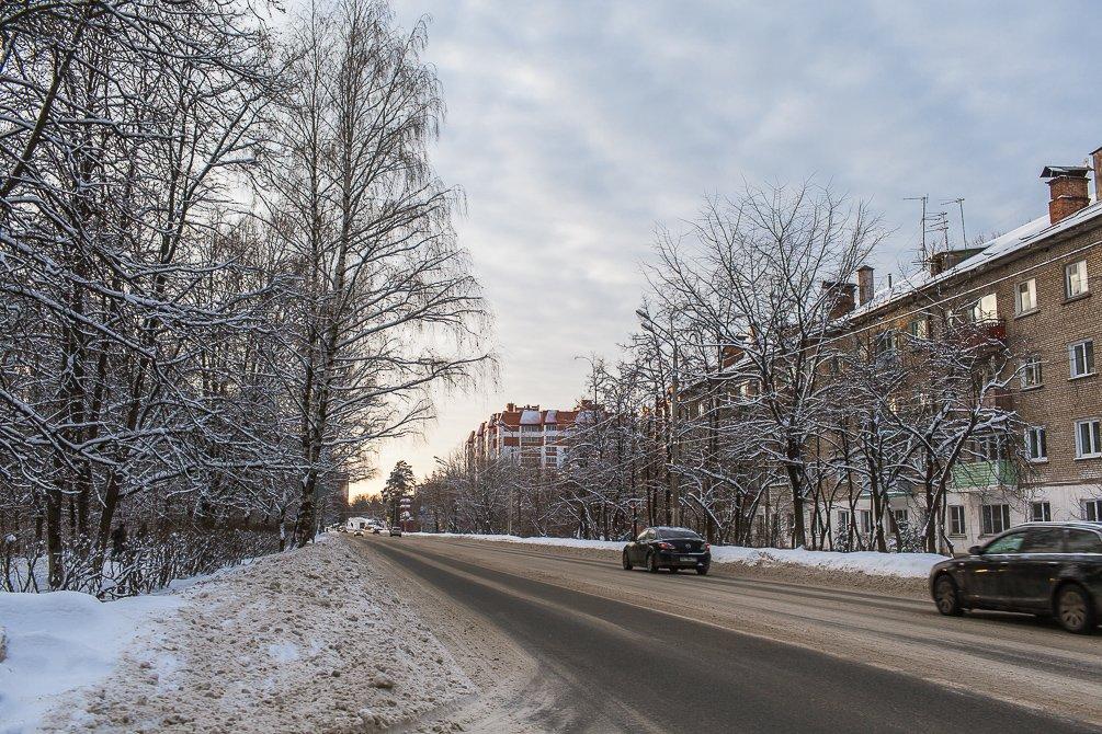 Зимний город, январь 2015 год
