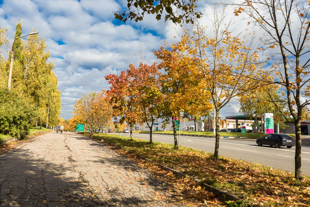 Осень в городе, октябрь 2017